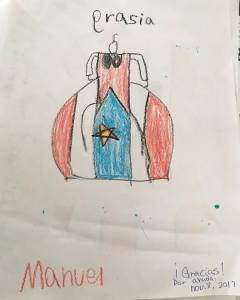 drawing from puerto rico kids